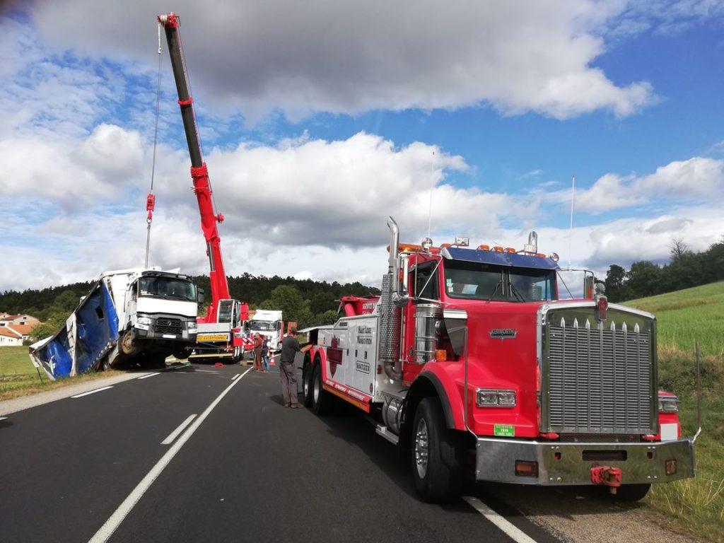 Dépannage camion Brioude