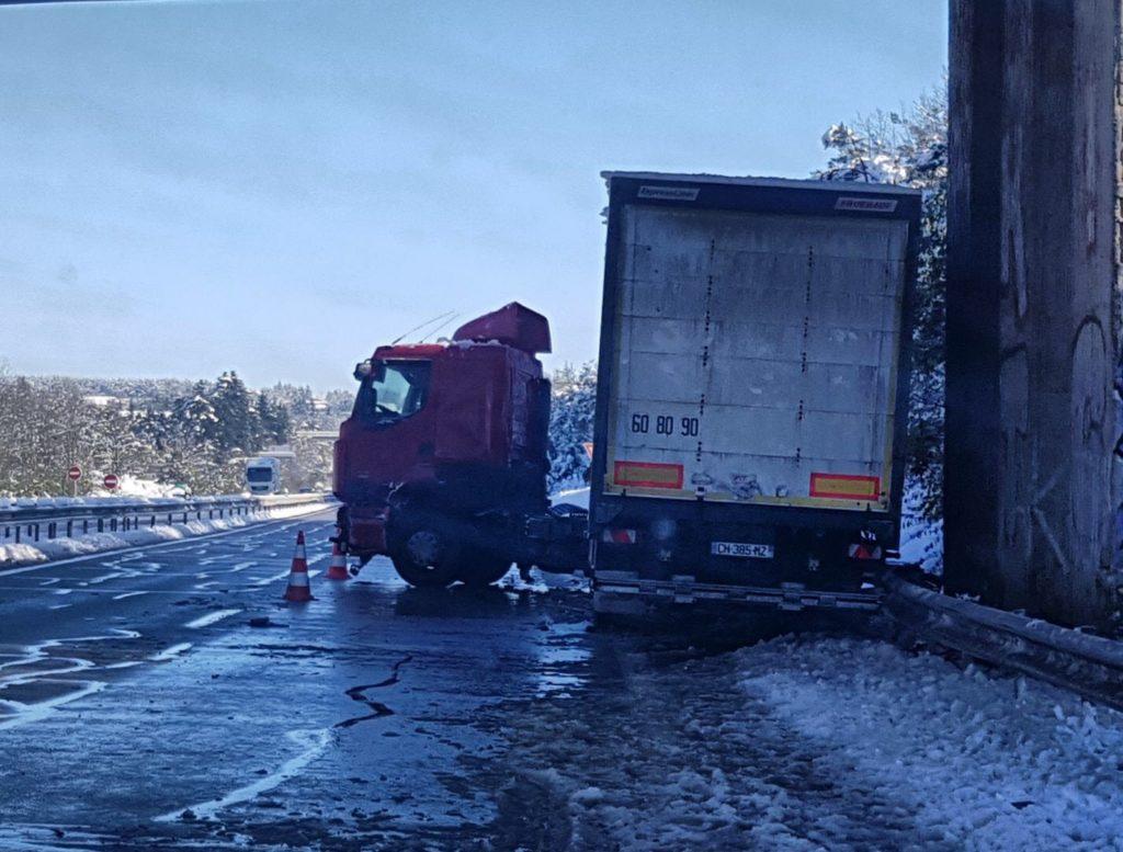 Dépannage d'un camion à Monistrol sur Loire