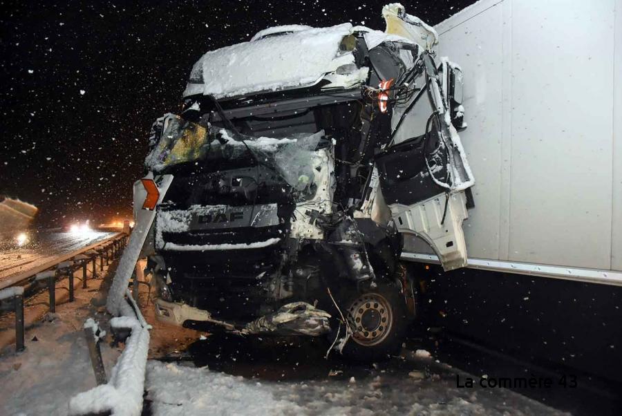 , Un camion en portefeuille à Monistrol-sur-Loire