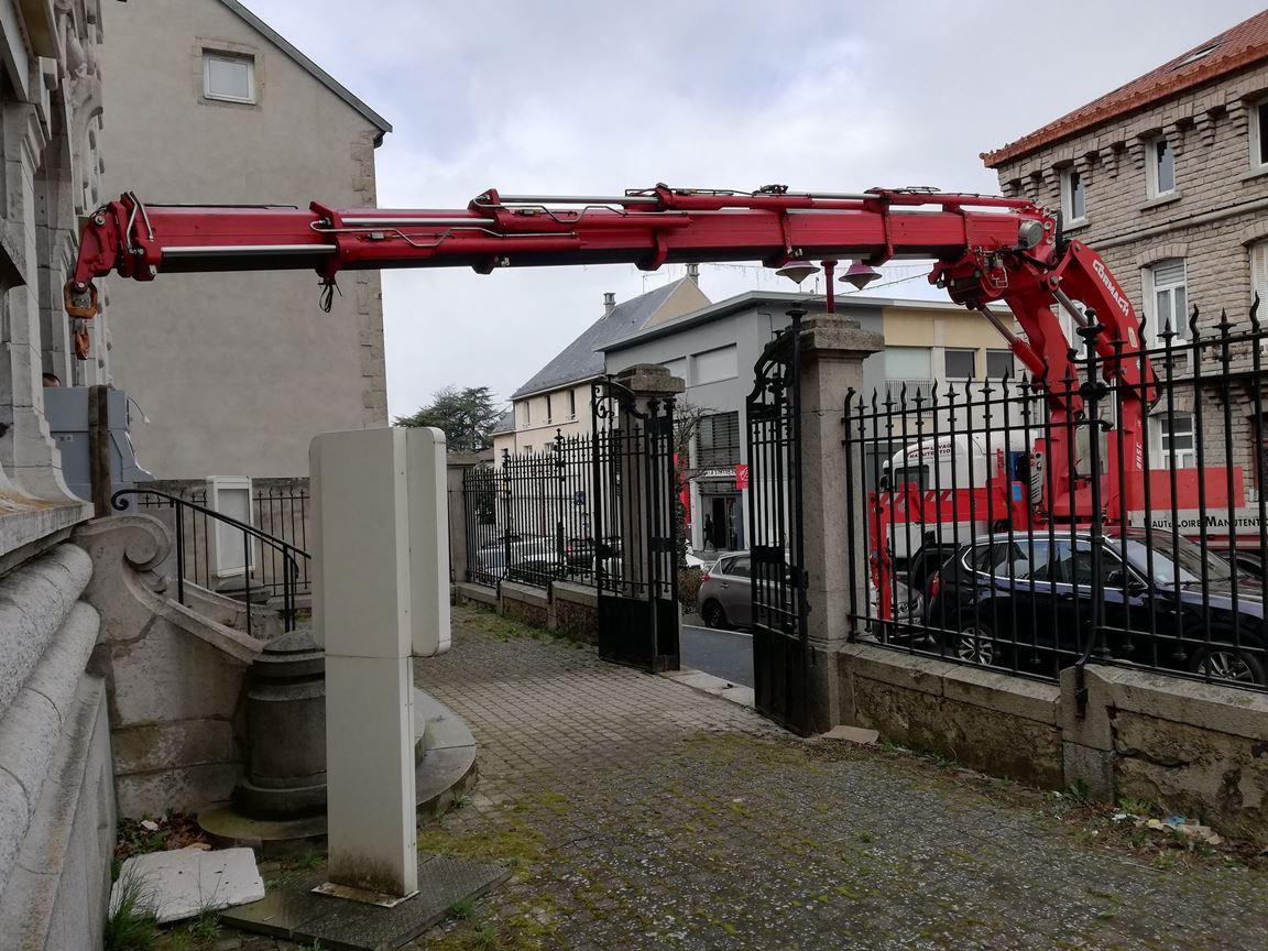 , Déménagement d'un coffre-fort à Yssingeaux