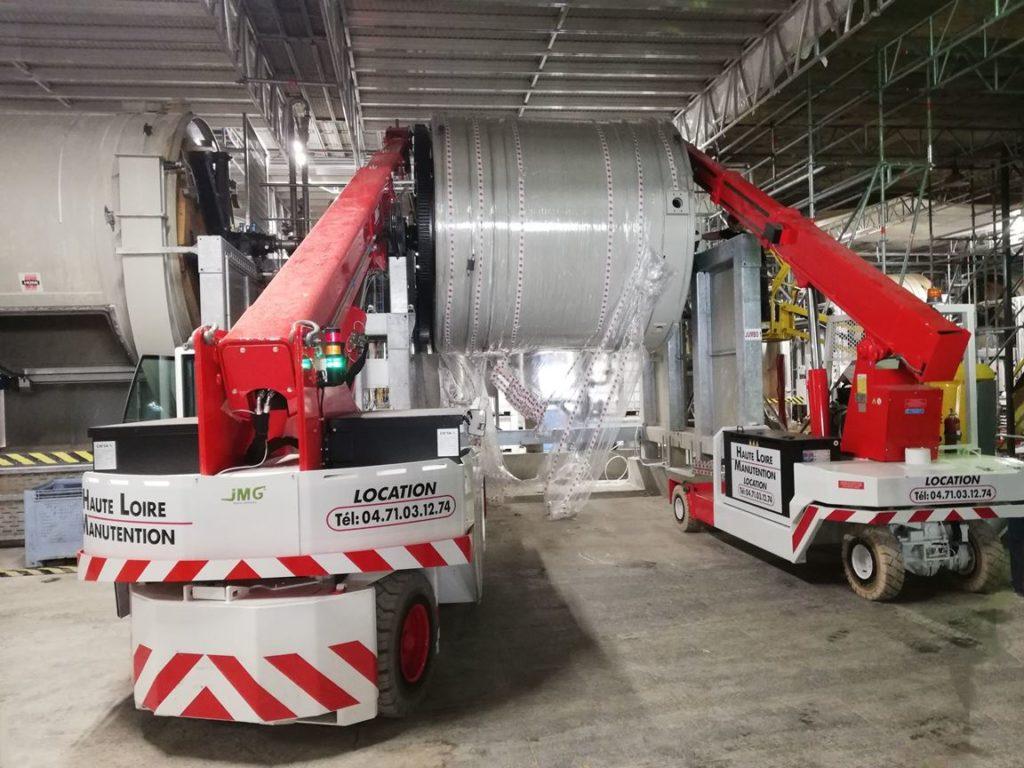 , Transfert industriel et manutention en Haute-Loire (43)