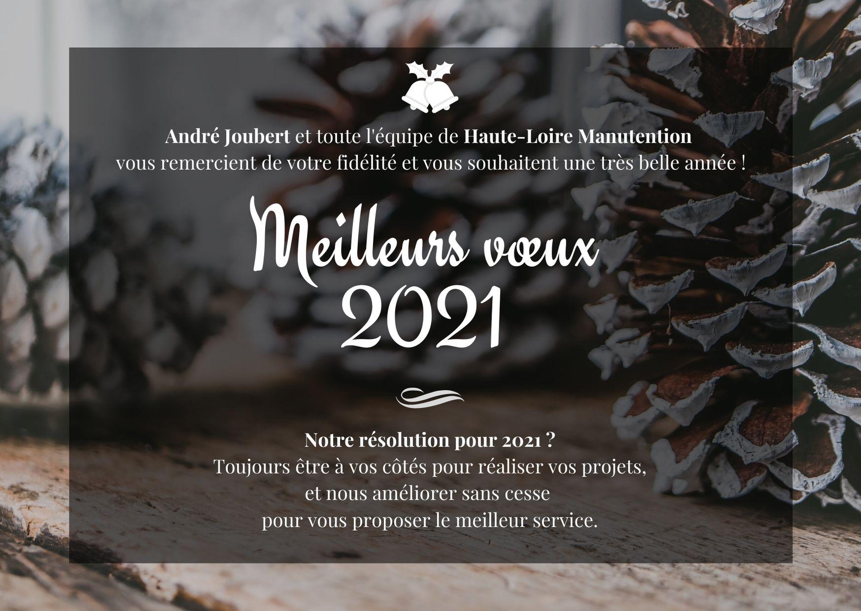 , Meilleurs Vœux 2021